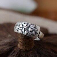 Geyik Kral takı toptan gümüş ANTIKA GÜMÜŞ YÜZÜK hediye açılış S925 mat süreci patlama