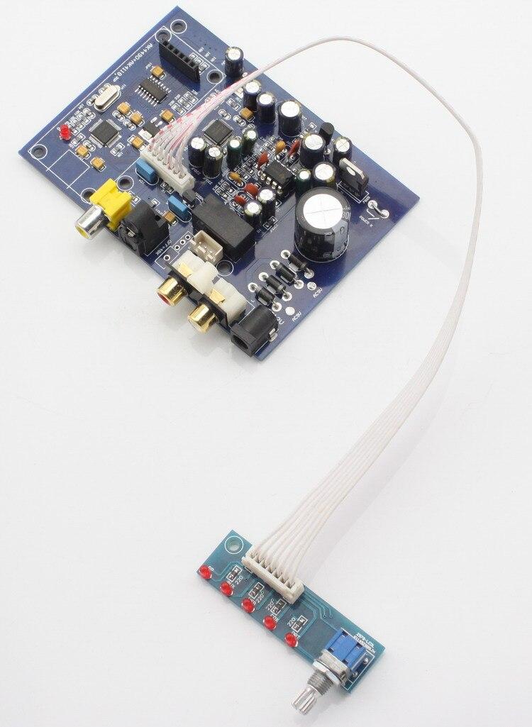 AK4490 + AK4118 four input DAC decoder board