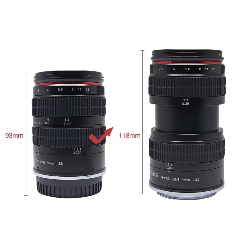 Meike MK 85mm F/2.8 Full Frame APS C Super MediumTelephoto Macro ...