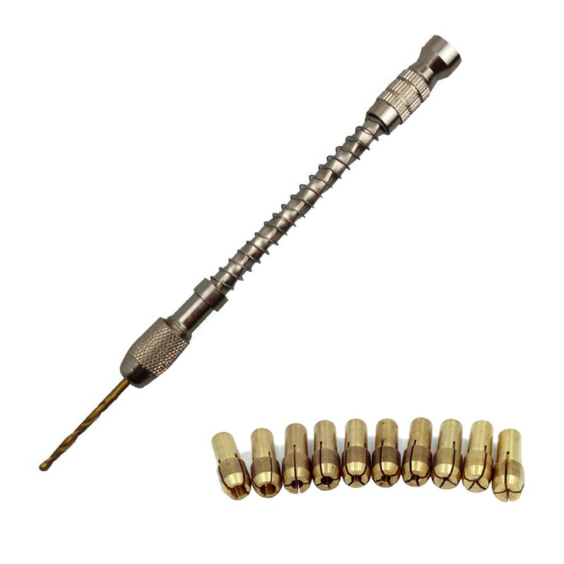 Drill Bit Wood Spiral Wire Twisting Drilling Hand Manual Jewelry ...