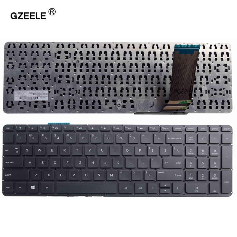 GinTai Laptop US Keyboard Backlit Replacement for HP Envy TouchSmart 15-j057CL 15-j119WM 15-j150US