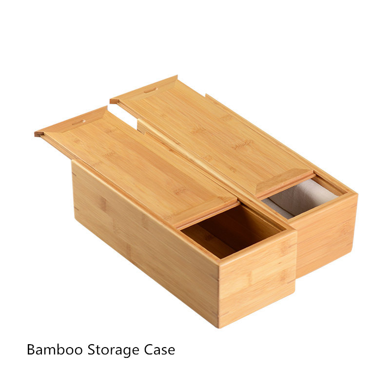 D'origine Bambou Boîtes De Rangement Cas Famille Vie Utiliser Affichage Outils Rectangle Forme bijoux pour femmes Cadeau Caes W018