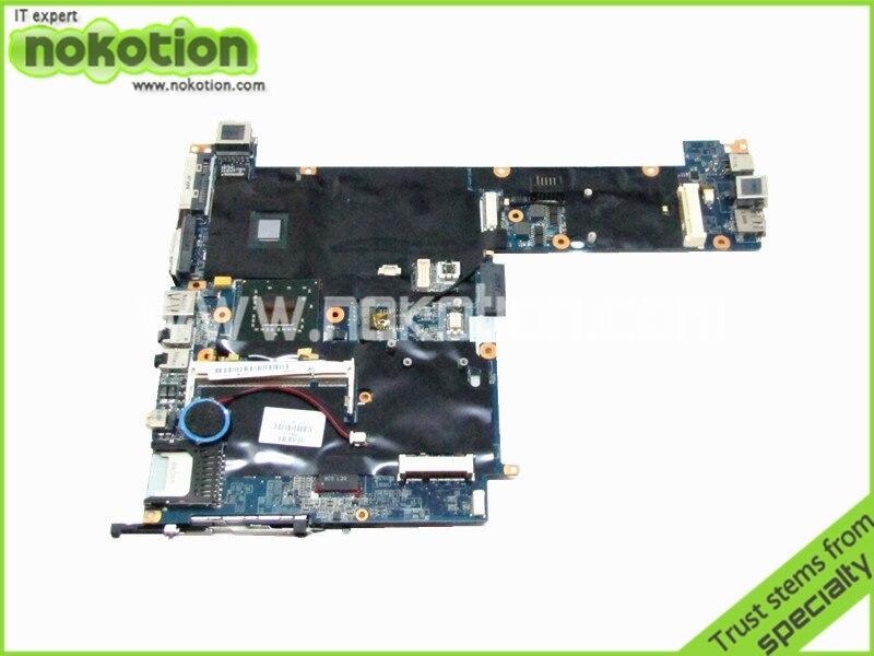 NOKOTION 451720-001 Laptop motherboard For Hp 2510P Intel U7600 CPU onboard 1.2Ghz DDR3 DA00T2MB8G0 nokotion 741030 501 741030 001 laptop motherboard for hp split x2 11 h sr1sf n2920 cpu onboard da0w03mbah0