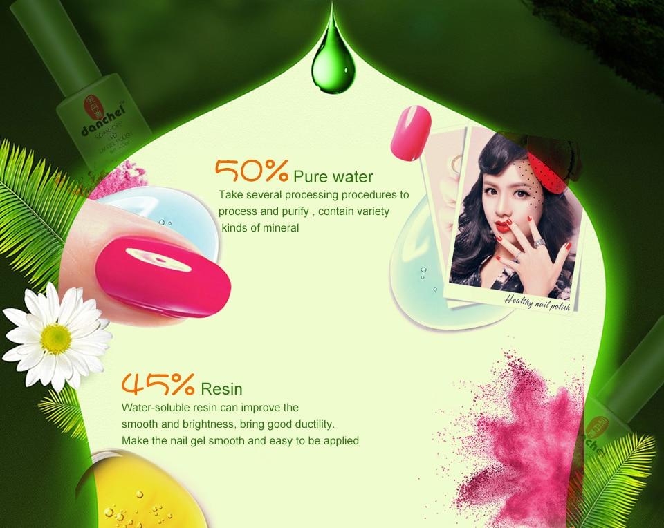 ᗜ Ljഃ9 ml gel polaco barniz uv LED 79 encanto colores UV gel Bases ...