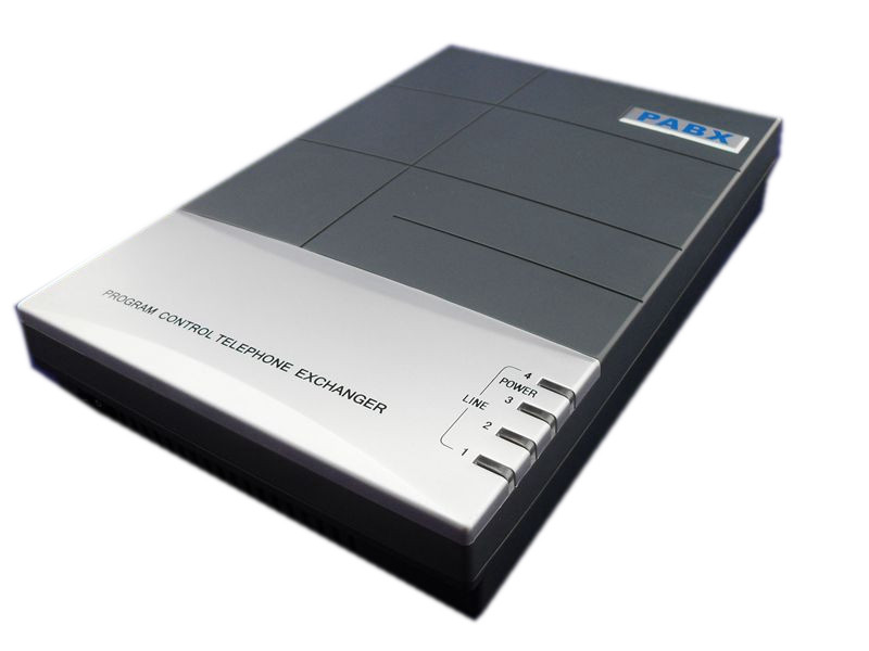 China <font><b>PBX</b></font> <font><b>phone</b></font> system factory directly supply &#8211; CS416 <font><b>Phone</b></font> pabx / telephone switch with 4 lines and 16 extensions