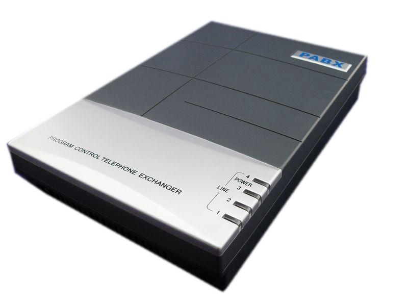 Chine PBX téléphone système usine fournir directement-CS416 Téléphone pabx/commutateur téléphonique avec 4 lignes et 16 extensions