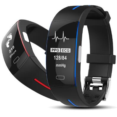 P3 Smart Bracelet ECG+PPG Blood Pressure Heart Rate watch Smart Wristband Pedometer Fitness Tracker Smart band Pk xiaomi band 3 fentorn p3 smart band support ecg ppg blood pressure heart rate monitoring ip67 waterpoof pedometer sports fitness bracelet