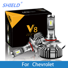 цена на 2 Pcs Car Headlight for Chevrolet Cruze Orlando Captiva Epica Lacetti H7 LED H4 LED H1 H7 H3 9005 6500K 8000LM CSP Light Bulb