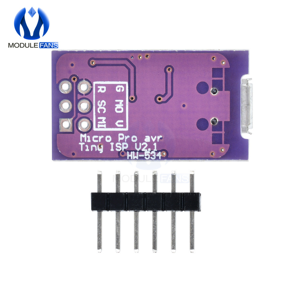 USBtinyISP V4 AVR ISP Programmer with Reliable Plastic Enclosure