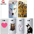 GerTong Soft TPU Case For Samsung Galaxy S8 Plus S7 S6 Edge S5 J7 J5 J3 2017 J7 J5 J3 2016 J4 J6 2018 Pattern Coque Phone Cover