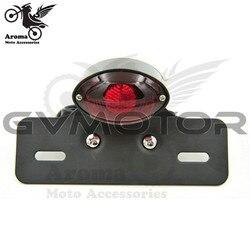 Uniwersalne LED na motocykl obiektywu motocykl Stop światło hamulca przestanie działać licencji lampa żarówka LED tylne światła hamowania dla Quad ATV na