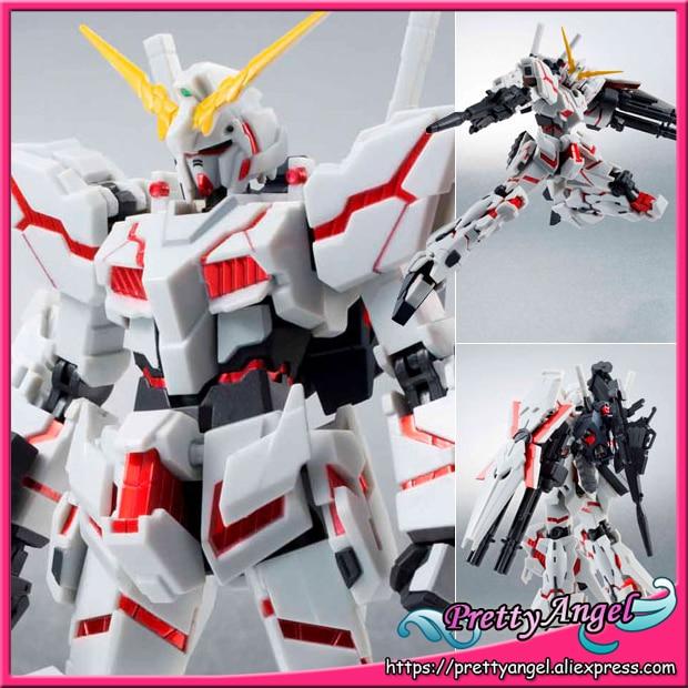 Original Bandai Tamashii Nations Robot Spirits 159 Action Figure Unicorn Gundam Destroy Mode Full Armor Compatible
