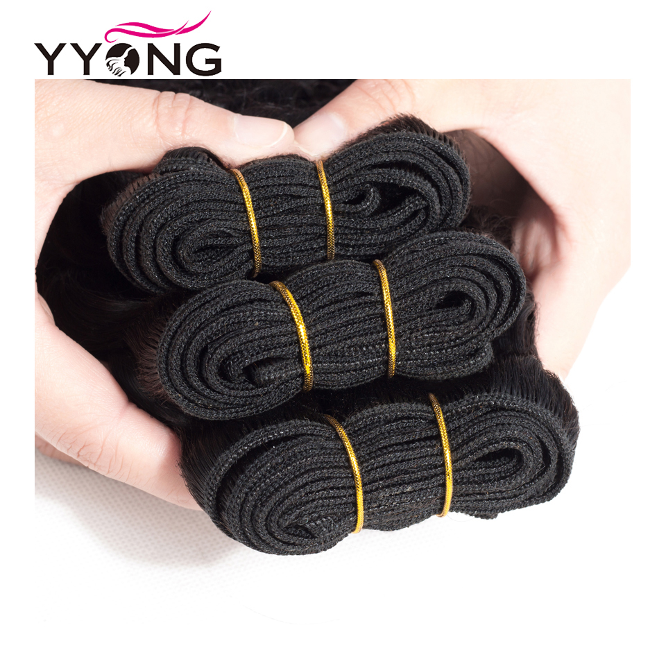Yyong Hair 4 Bundle Deals  Deep Wave Hair s 8-30 Inch Can Be Colored 100%   Natural Color 3