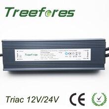 IP66 Triac 80W 100W 120W 150W 200W 300W 360W ściemnialny sterownik led AC do DC 12V 24V zasilacz ściemniający transformator oświetleniowy