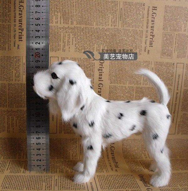 simulation Dalmatian dog model,polyethylene&fur standing spotted dog 20x8x18cm handicraft toy home decoration Xmas gift b3832