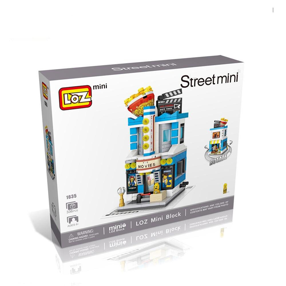 LOZ 1636 Street Wedding Dress Shop Mini Nano Building Blocks Diamond Gift Toys