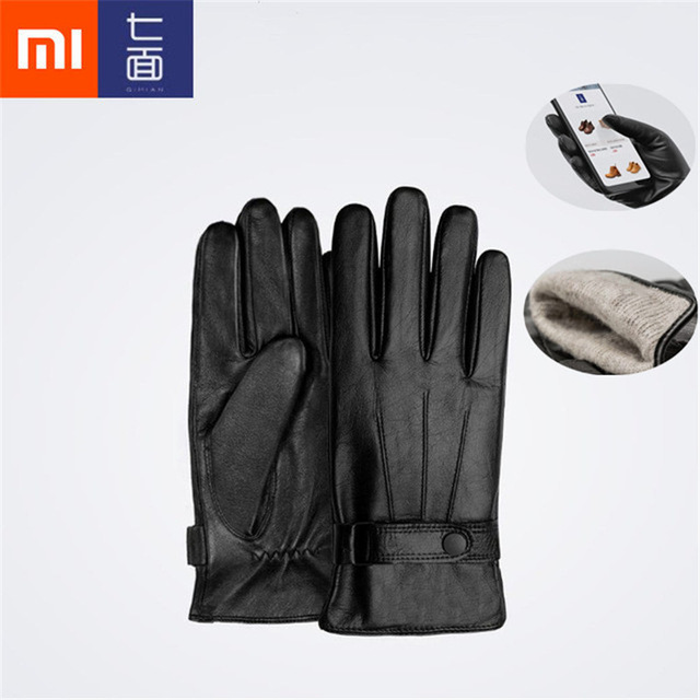 Image 2 - Original Xiaomi Mijia Youpin Men /women Lambskin Touch Screen Gloves from Spanish Raw Materials For xiaomi smart home kits-in Smart Remote Control from Consumer Electronics