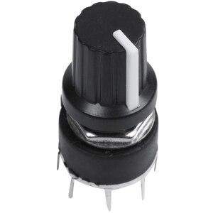 Image 1 - 1 adet siyah plastik bant anahtarı SR16 anahtarı 1 bıçak 5 tezgahları döner anahtar 3.2*1.6*1.6cm