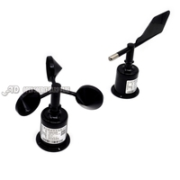 Three Cups Of Wind Speed Sensor Wind Direction Wind Direction Meter RS485 232 4 20mA 0