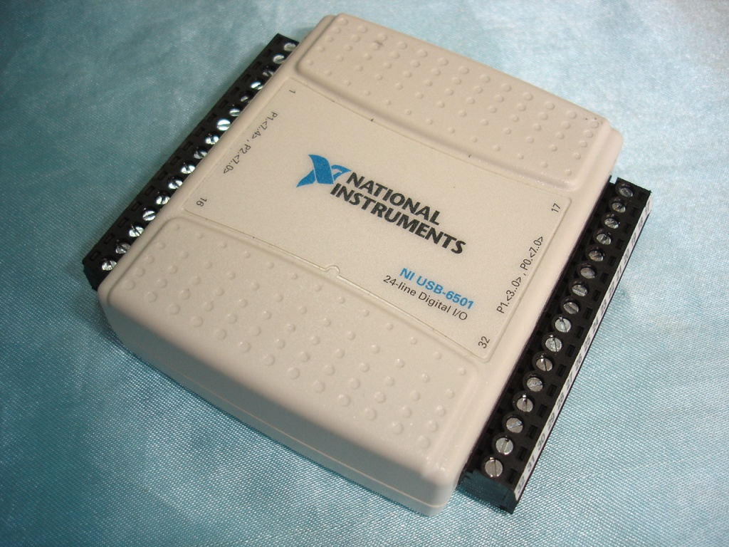 Used Excellent Condition Original NI USB-6501 USB 6501 Data Acquisition Card DAQ 24-line Diginal I/O Labview, Or Replacement