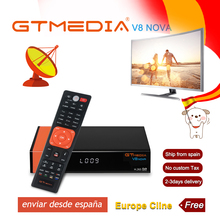 1 Year Europe Cline Genuine Freesat GTMedia V8 Nova Full HD DVB-S2 Satellite Receiver Same V9 Super Upgrade From Deco
