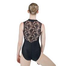 Back Leotard Lace Dance