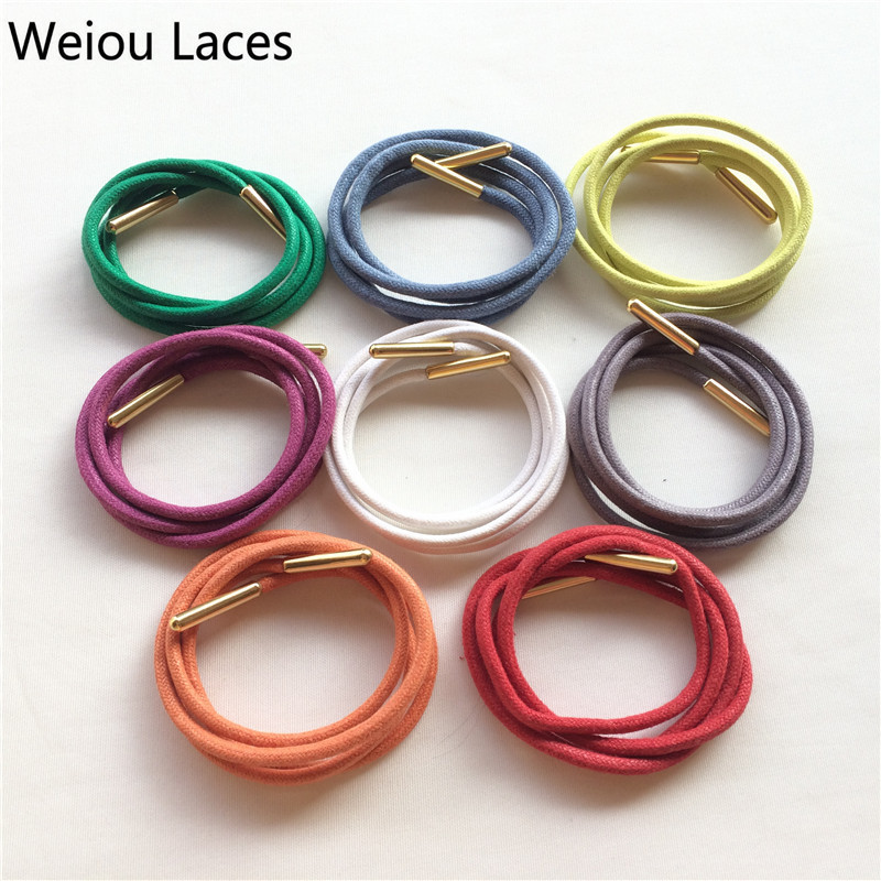 (30pairs/Lot)Weiou Waxed Cotton Round Ropes Shoelaces Colored Waxed Casual Dress Shoe Laces String For Leather Shoes Martin e50s8 8000 3 v 24 e50s8 8000 3 t 24 e50s8 8000 6 l 5 new and original autonics encoder 12 24vdc