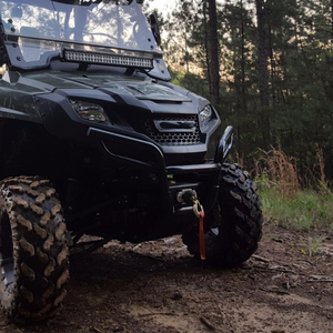 Image 3 - KEMiMOTO ATV utv RZR 900 RZR XP 1000 司令官ウインチガードケーブル停止フックストッパーライン保存ウインチストッパーケーブルストッパー
