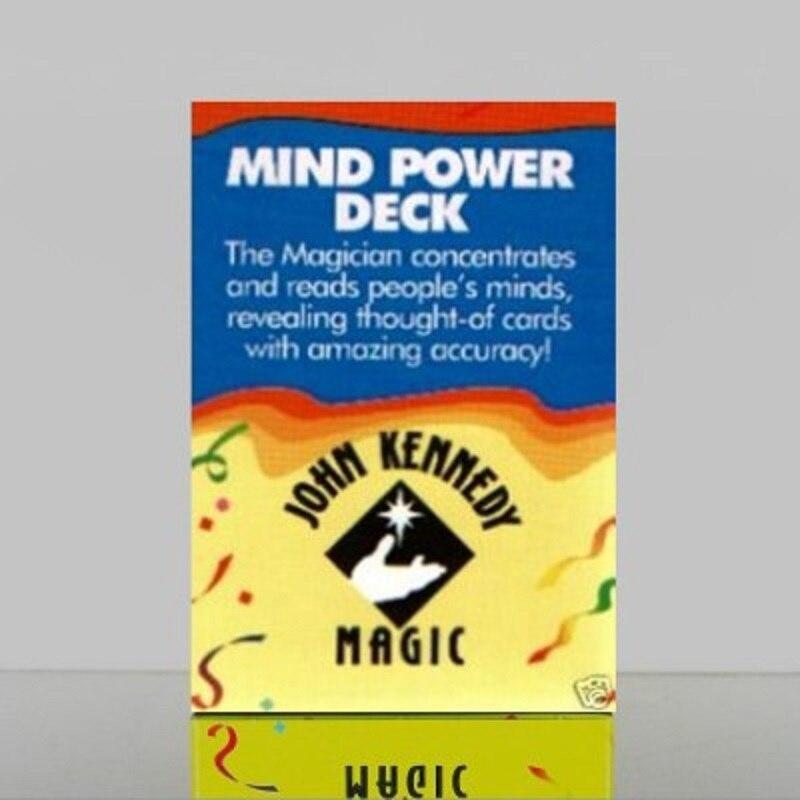 Puissance mentale Deck tours de magie accessoires de magie