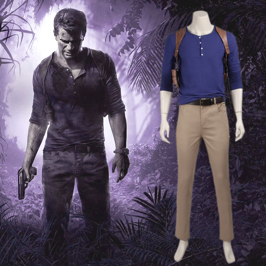 Uncharted 4 A Thief S End Game Cosplay Nathan Drake Costume For