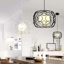 modern light fixture Pendant Lights Minimalist LED Bird nest Lamp Restaurant Lamps Indoor Decoration Home Light Lamparas