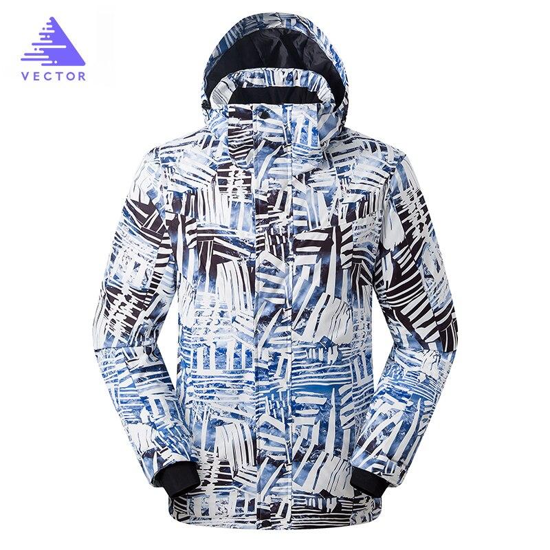 Ski Jacket Winter Wear Thick Warm Coat Women Men Couples Clothing Camping Snowboard Snow Skiing Sport Outdoor Waterproof 2019