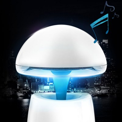 цена на A LA Magic Lamp 3 in 1 Creative Wireless Bluetooth Speaker with Night Light Alarm Clock Function Support TF Card USB Input