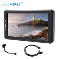 Feelworld Latest F6 5 7 IPS Support 4K HDMI Input Full HD On Camera Monitor For