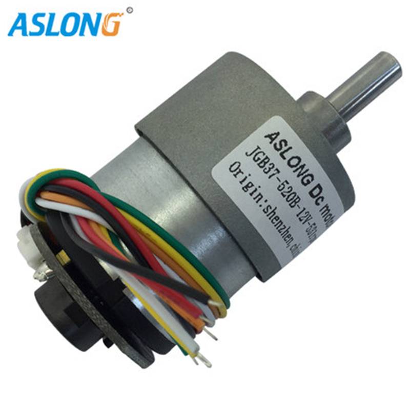 mini 520 DC motor12v geared motor for home Applicances 520dc motor with hall sensor encoder encoder motor 12v dc motor