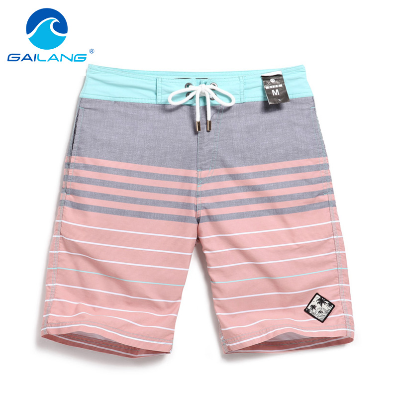Gailang Brand Men Boardshorts Board Beach Shorts Costumi da bagno Costumi da uomo Casual Bermuda Jogger Pantaloncini Quick Drying Shorts Tronco