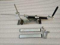 lansky stainless Full metal kitchen knife sharpener system with 3pcs Ruixin diamond stone 200#500#800#