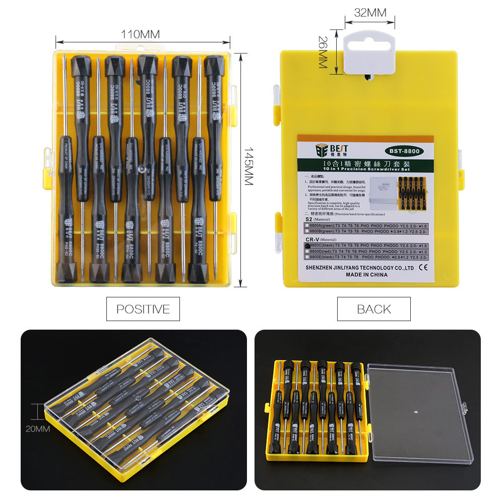 Set di strumenti di riparazione set di cacciaviti di precisione - Utensili manuali - Fotografia 6