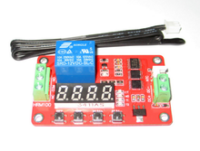HRM01E Digital display thermostat / temperature control switch / high precision measurement / thermistor relay control module цены