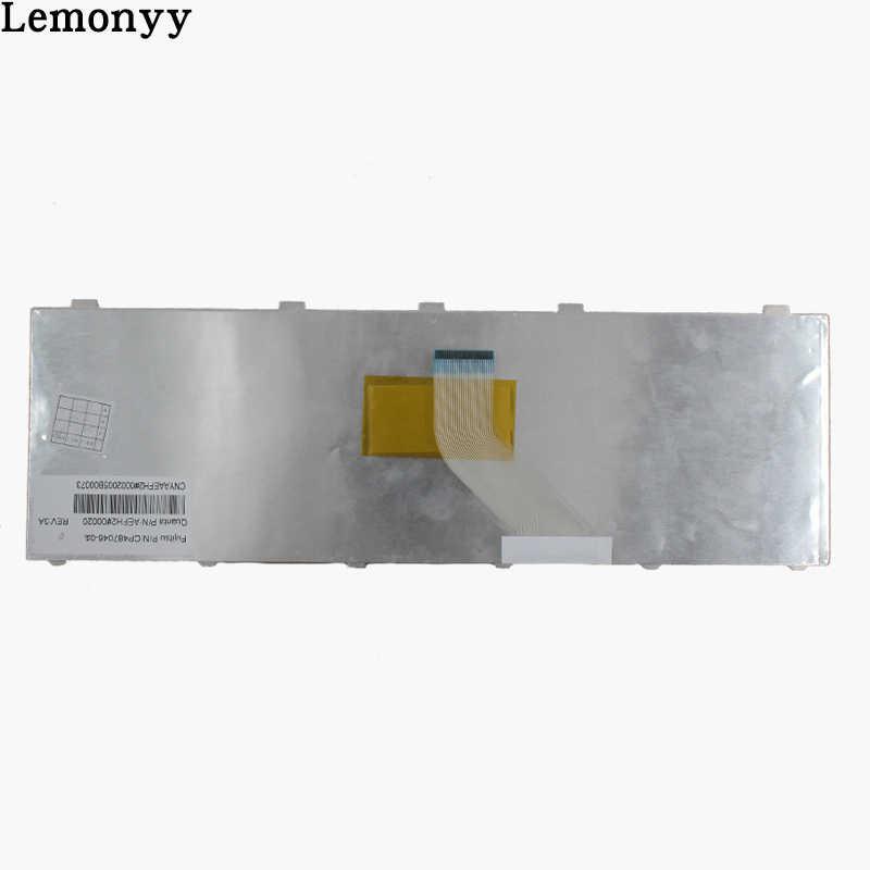 Novo Teclado DOS EUA Para Fujitsu Lifebook AH530 AH531 NH751 A530 A531 Preto Inglês Teclado Do Laptop