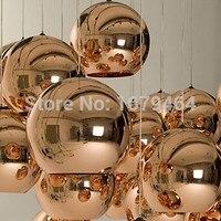 공장 직접 판매 led 5 w 펜 던 트 조명 미니 글로브  1 빛  미니 멀리 즘 금속 유리 전기 도금 110 v 220 v