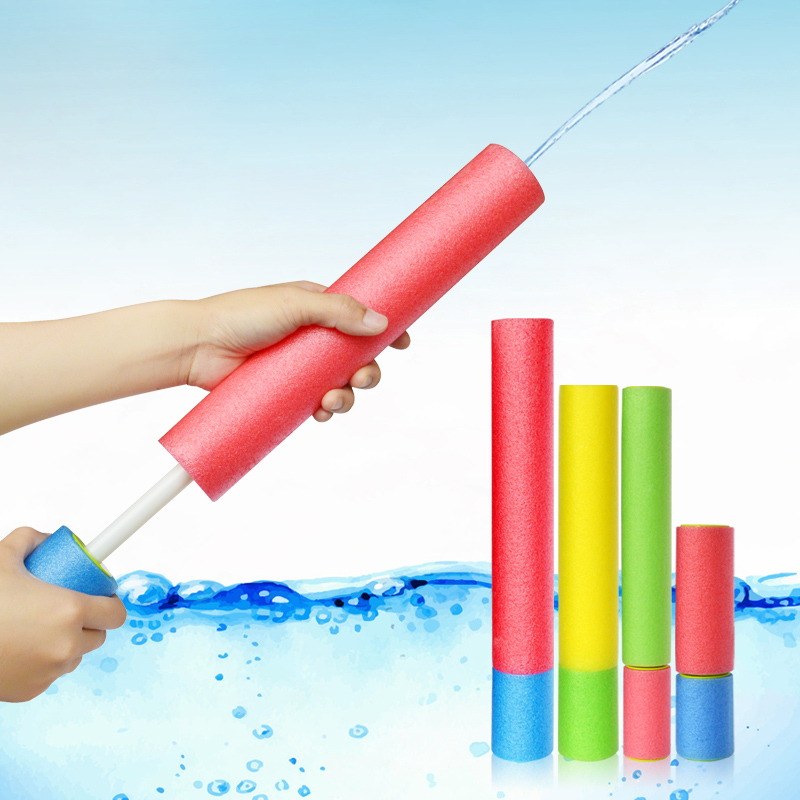 Hot Sale Summer Water Toys  EVA Water Pistol Blaster Shooter Pumping Sprayer Water Gun Toys For Children Summer Pools Toys(China)