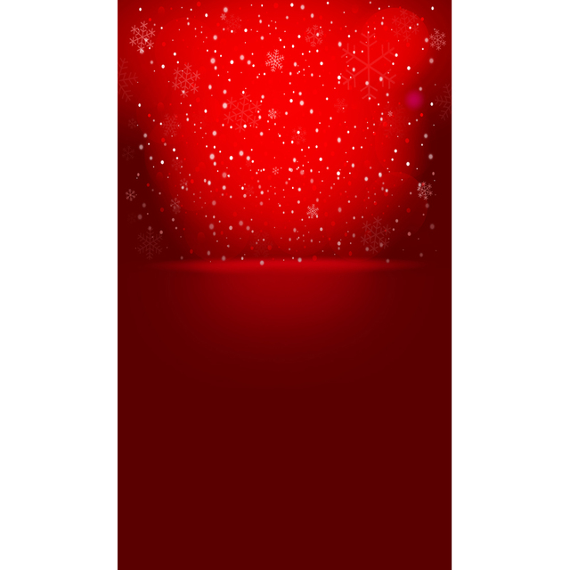 10ft vinyl print red background with snowflakes photography backdrops for valentines day photo studio portrait shooting - Valentines Backdrops