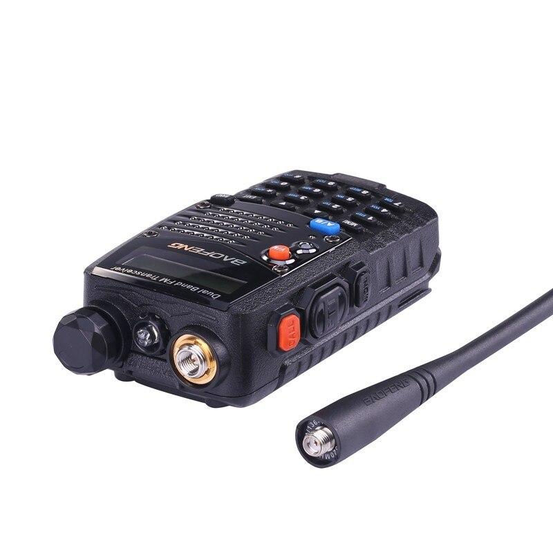Купить с кэшбэком (2 PCS)Baofeng UV5RA Ham Two Way Radio Walkie Talkie Dual-Band Transceiver (Black)