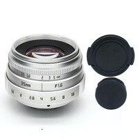 新しいスタイル福建35ミリメートルf1.6 cマウントcctvカメラレンズii用富士富士フイルムx-pro1 (c)送料無料