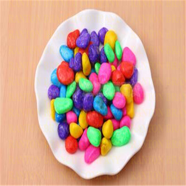 Hot Selling Garden Stone Decorations, DIY Different Colors With Stone Style  Garden Decor Nature Ornaments