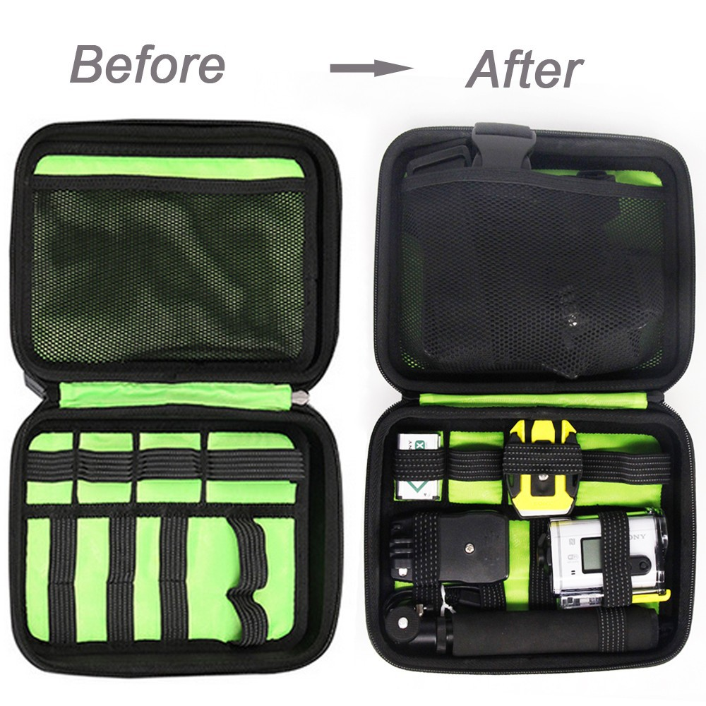 Carrying Case bag for Sony Action Cam HDR-AS15 AS20 AS30V AS100V AS200V HDR-AZ1 Mini Sony FDR-X1000V protect bag