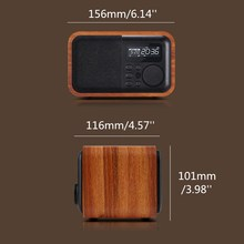 D90 Wooden Bluetooth Speaker
