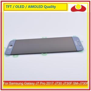 """Image 5 - ORIGINALE 5.5 """"Per Samsung Galaxy J7 Pro 2017 J730 J730F SM J730F Display LCD Con Pannello Touch Screen Digitizer Pantalla completo"""