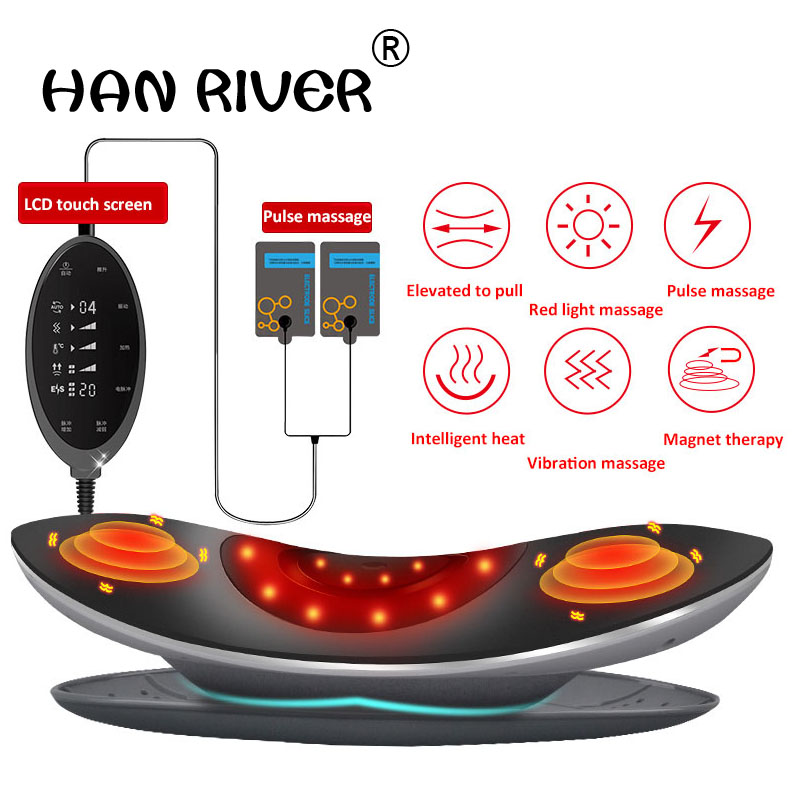 Electric heating belt Lumbar disc strain highlights lumbar traction Backache Waist-back massager Men's and women's household